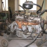 Старый двигатель ГАЗ 51