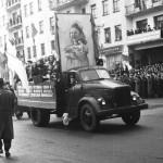Демонстрация в Мурманске 1 мая 1958