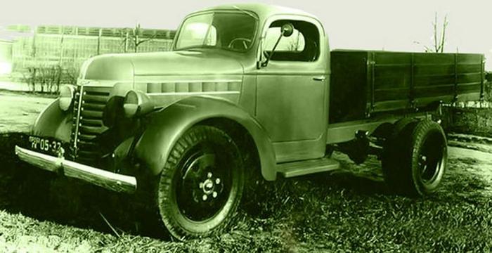 ГАЗ-51 до войны предполагалось выпускать вот таким