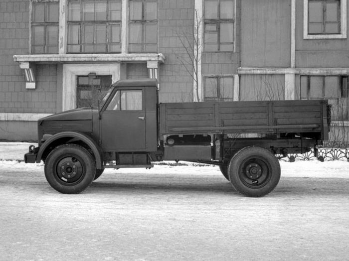 ГАЗ-51 с деревянной кабиной